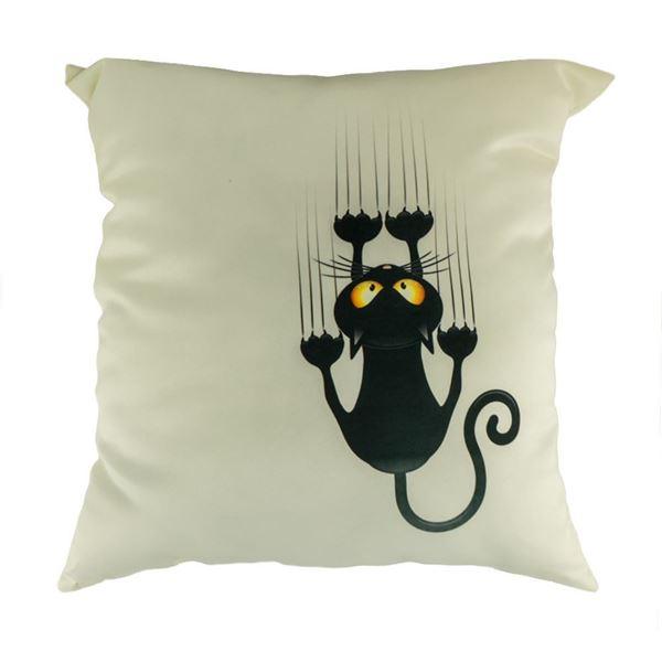 Снимка на Декоративна възглавница - Котка деряща 25