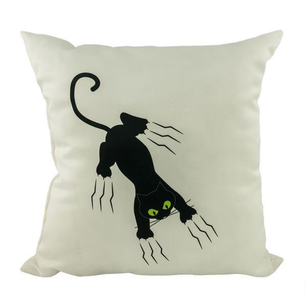 Снимка на Декоративна възглавница - Котка деряща 24