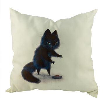 Снимка на Декоративна възглавница - Котка 12
