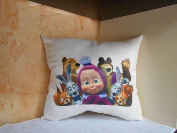 Снимка на Детска Декоративна възглавница - Маша и Приятели 8