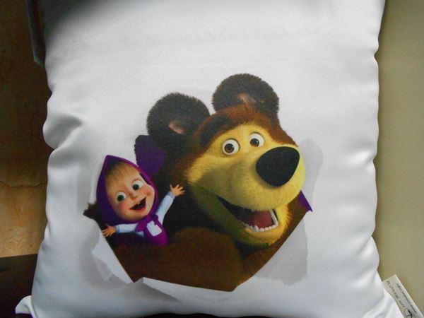 Снимка на Детска Декоративна  възглавница - Маша и Мечока 10