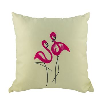Picture of Декоративна възглавница - Розово Фламинго