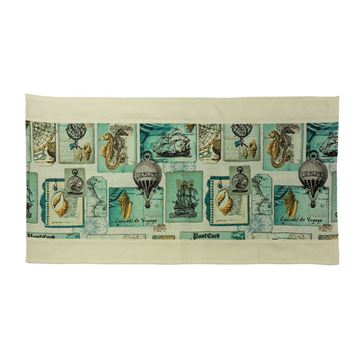 Picture of Декоративна лента за маса - Кораби - 45/175