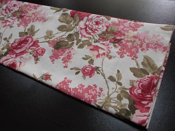 Снимка на Декоративна лента за маса - Люляци - в два цвята