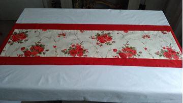 Picture of Комплект Декоративни ленти за маса в три цветови съчетания - Червено, лила и пепел от рози - 45/170 и 30/125