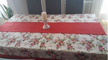 """Picture of Комплект Покривка за маса с лента  """"Цветно настроение"""" - различни размери"""