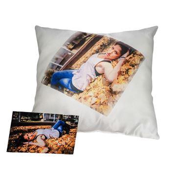 Снимка на Декоративна възглавница - с Ваша снимка или надпис по желание!