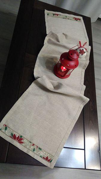 Picture of Коледна декоративна лента за маса - 35/155см
