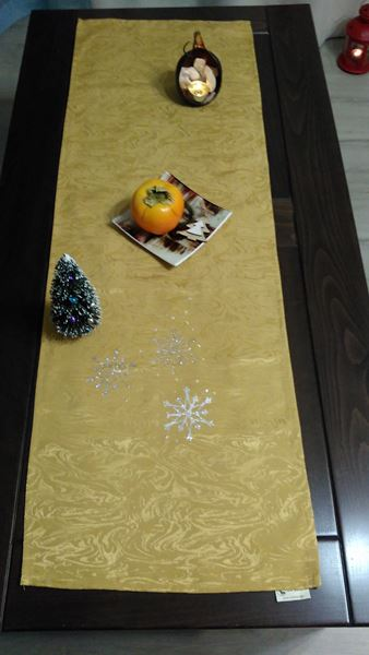 Снимка на Коледна декоративна лента за маса - 35/110см