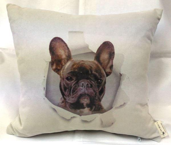 Снимка на Декоративна възглавница - Палавото куче