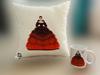 Снимка на Сет - Декоративна възглавница с чаша - Зодия  Рак (22.06-23.07)